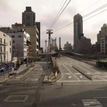Lucie & Simon | Silent World | Queensboro bridge, C-print, 200x256cm, 2009