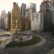 Lucie & Simon | Silent World | Columbus circle, C-print, 250x320cm, 2009