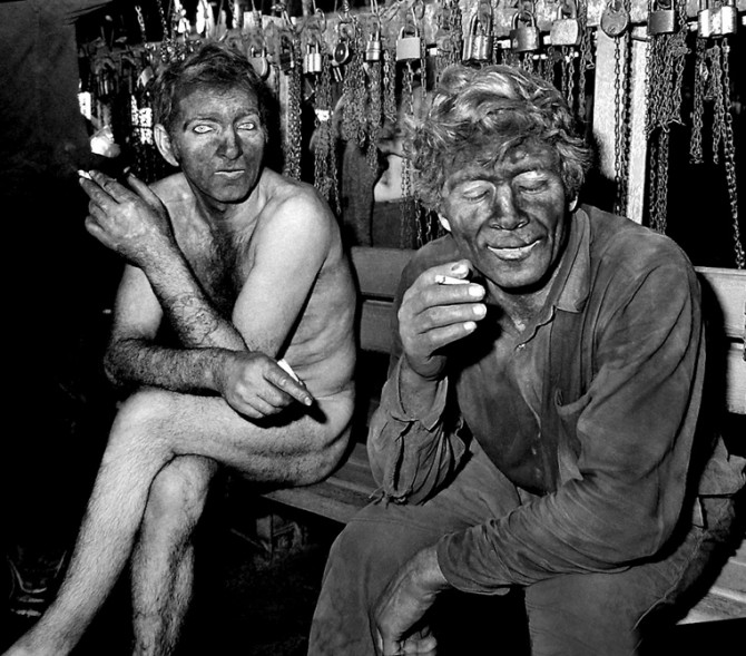 Darek Fortas | Coal Story | Archival Image I (Miners After Work, 1977)