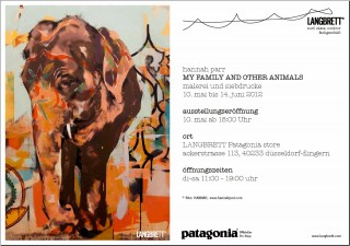 HANNAH | My Family and Other Animals | Invitation Düsseldorf exhibition