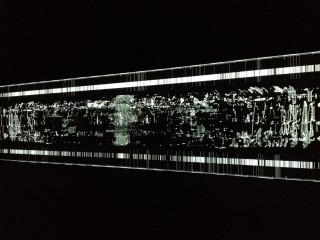 Ryoji Ikeda | data.anatomy [civic] (photograph by Natascha Becker)