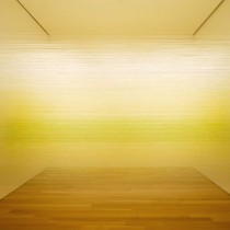 Anne Lindberg | raume yellow, 2010 shown in Museum Interrupted at the Nerman Museum of Contemporary Art