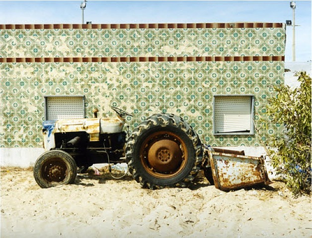 © Joachim Brohm, Tractor #1, from the series 'Culatra', 2008-2010