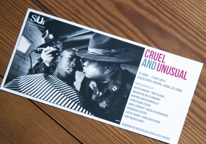 Cruel And Unusual | Exhibition at Sirius Arts Centre Cobh, Ireland