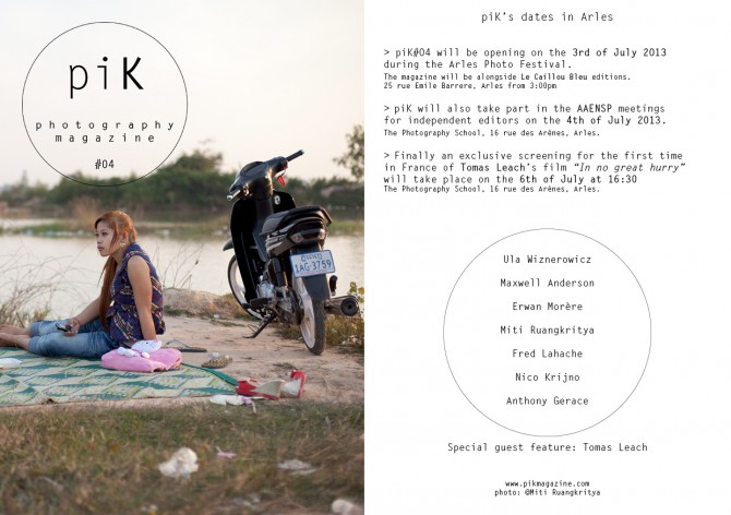 piK photography magazine Issue #04