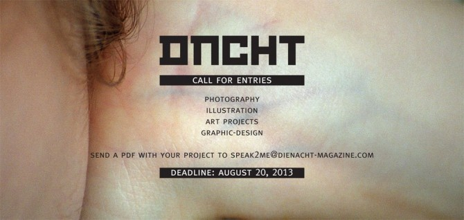 dienacht Magazine | Call for Entries