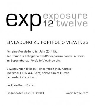 exp12 Gallery | Portfolio Viewings for 2014