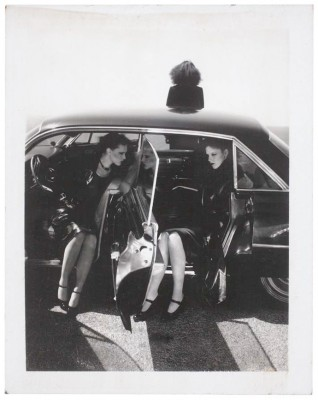 Guy Bourdin: untitled, polaroid, 10,8 x 8,5 cm © The Estate of Guy Bourdin, 2013