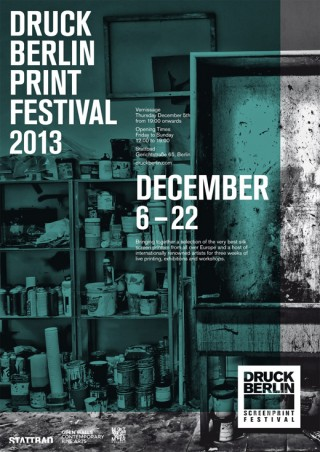 Druck Berlin | Silk screen print festival | Poster
