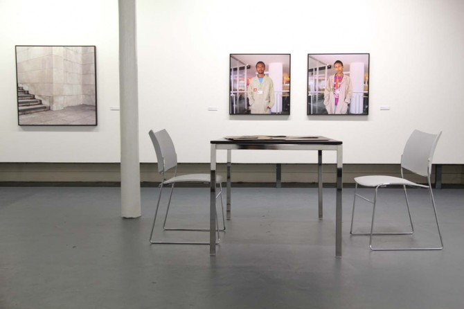 Mark Curran | The-Market (Installation view, Belfast Exposed)
