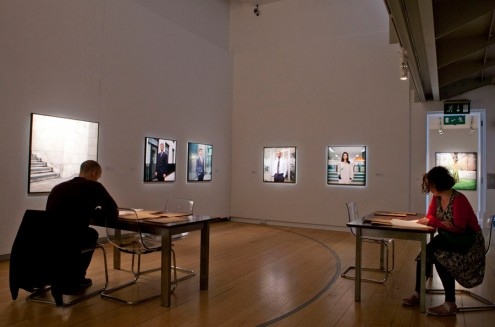 Mark Curran | The-Market (Installation view, Gallery of Photography)