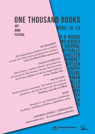 one thousand books 2014 – art book festival copenhagen