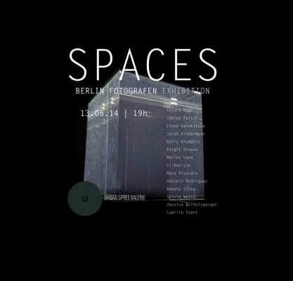 Spaces Exhibition flyer