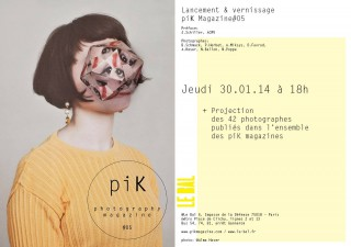 piK Magazine Issue #05 invite