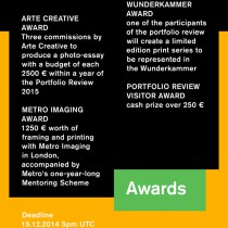 03_Portfolio Review 2014_Call for Entrie_Awards