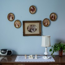 Kristin Bedford | The Perfect Picture, Blue Guest Room